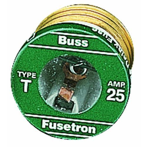 Bussmann T Fusetron Plug Fuse