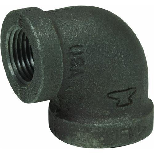 Anvil International Black 90 degrees Reducing Elbow