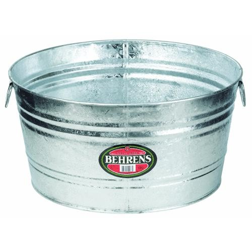 Behrens Hot-Dipped Oval Tub