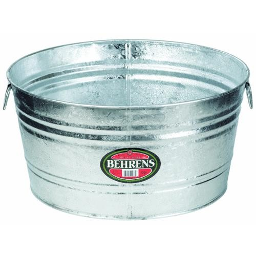 Behrens Hot-Dipped Round Utility Tub