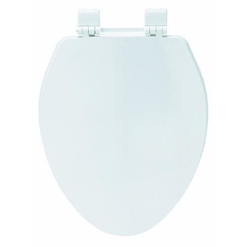 Bemis/Mayfair Elongated Plastic Economy Toilet Seat