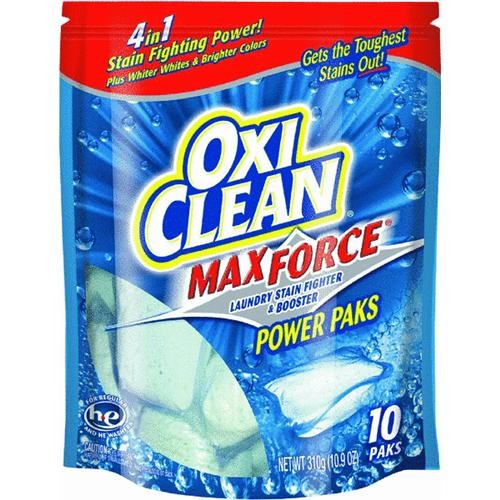 Church & Dwight Co Oxi Clean Power Packs Stain Remover Laundry Booster