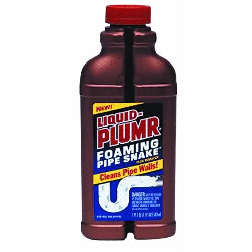 Clorox/Home Cleaning Liquid-Plumr Foaming Pipe Snake Liquid Drain Cleaner