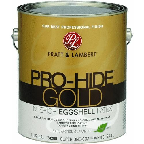 - Pratt & Lambert Pro-Hide Gold Eggshell Latex Interior Wall Paint