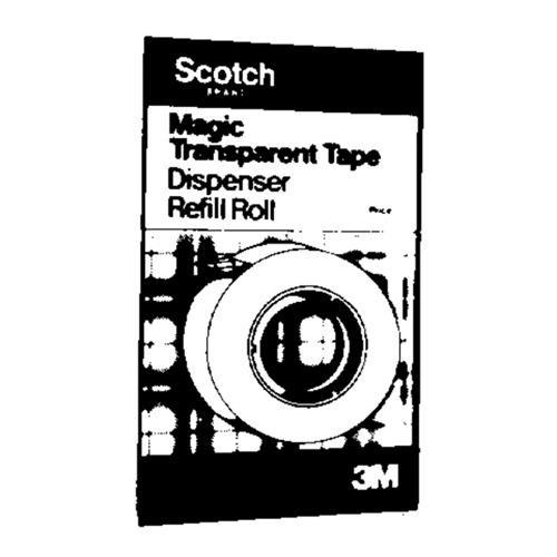 3M Scotch Magic Transparent Tape Refill