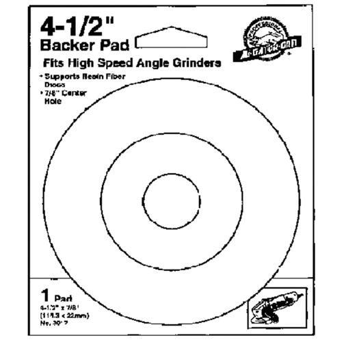 Ali Ind. Gator Power Angle Grinder Backing Pad