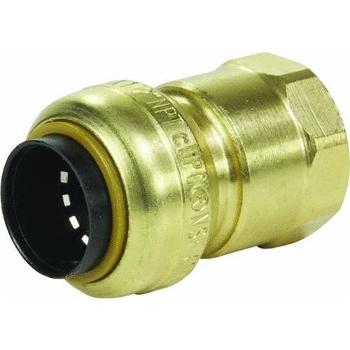 Cash Acme Sharkbite Brass Female Adapter (Push x Fem Pipe)