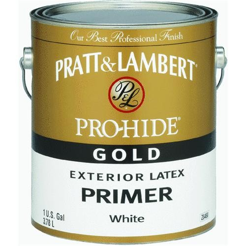 - Pratt & Lambert Pro-Hide Gold Latex Exterior Primer