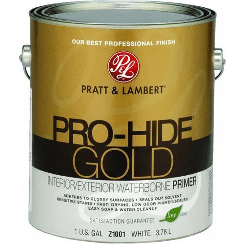 - Pratt & Lambert Pro-Hide Gold Interior/Exterior Stain Blocking Primer