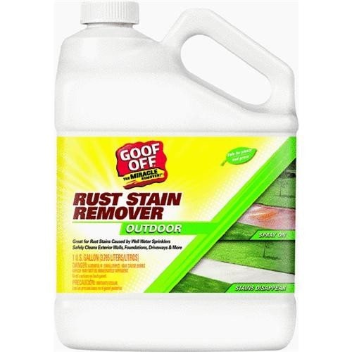 William Barr Gallon Rust Stain Remover