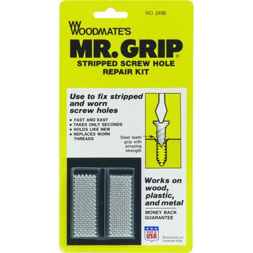 Woodmate Mr. Grip Screw Hole Repair Kit