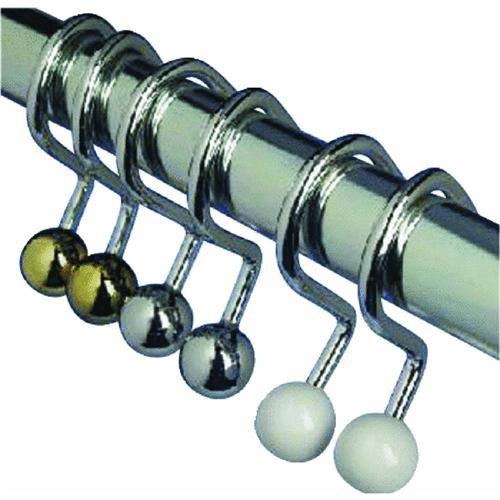 Zenith Prod. Ball End Shower Curtain Hook
