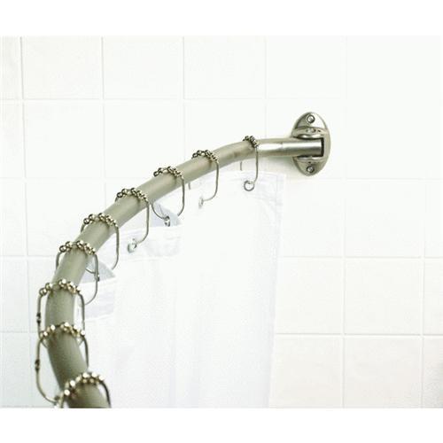 Zenith Prod. Adjustable Curved Shower Rod