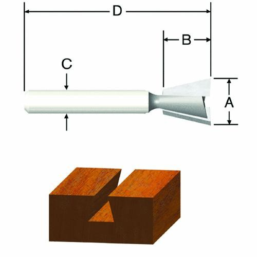 Vermont American Dovetail Router Bit