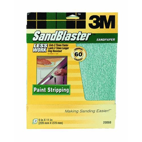 3M 3M SandBlaster Paint Stripping Sandpaper