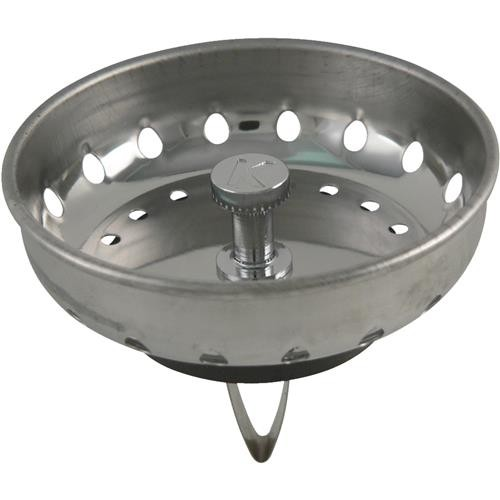 Plumb Pak/Keeney Mfg. Keeney Stainless Steel Basket Strainer Stopper