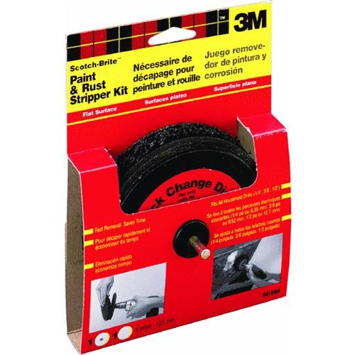 3M 3M Scotch-Brite Rust and Paint Removal Disc Kit