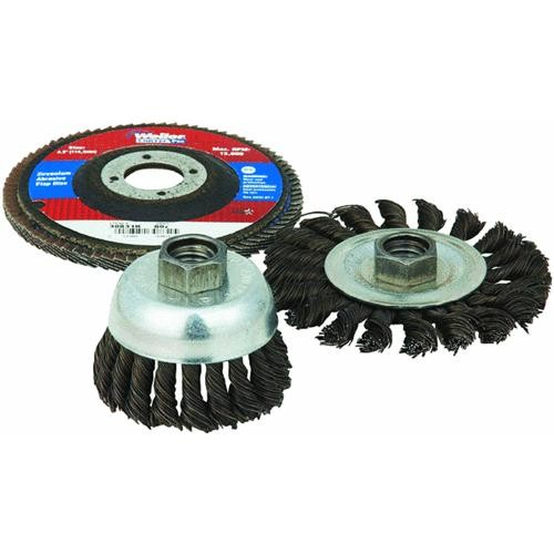 Weiler Brush 3-Piece Grinding Accessory Kit