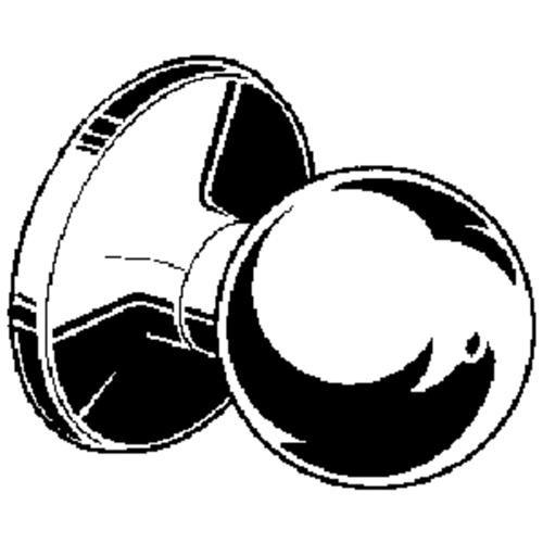 Weiser Lock Yukon Privacy Knob Lockset