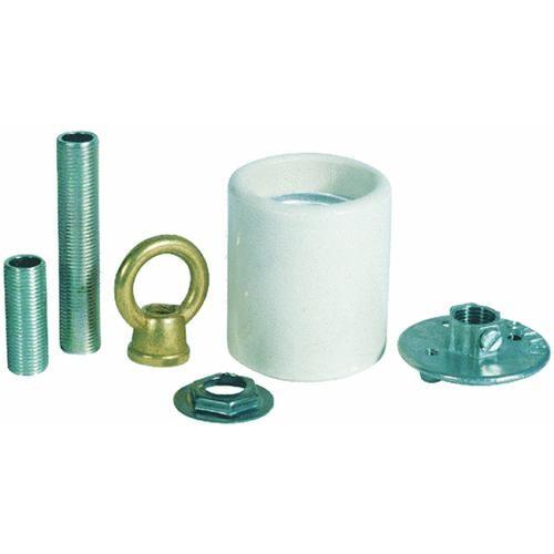 Westinghouse Lightng Porcelain Keyless Socket Adapter Kit