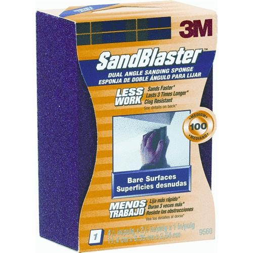 3M 3M SandBlaster Dual Angle Sanding Sponge