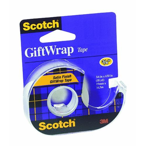 3M Scotch Gift-Wrap Transparent Tape