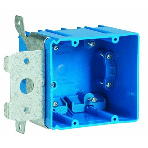 Thomas & Betts Adjustable Two Gang Box
