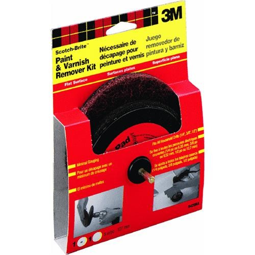 3M 3M Scotch-Brite Varnish and Paint Removal Disc Kit