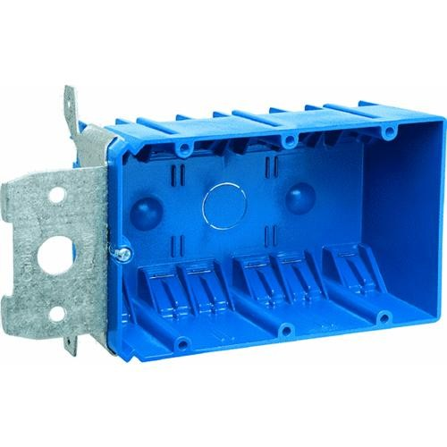 Thomas & Betts Adjustable Three Gang Box