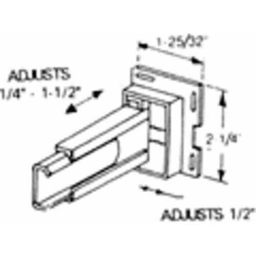 United States Hdwe. Rear Drawer Guide