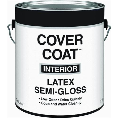 Valspar Cover Coat Contractor Grade Latex Semi-Gloss Interior Wall & Trim Enamel