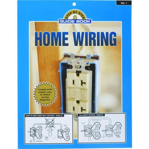 Step-By-Step Guide Book Home Wiring Manual Book