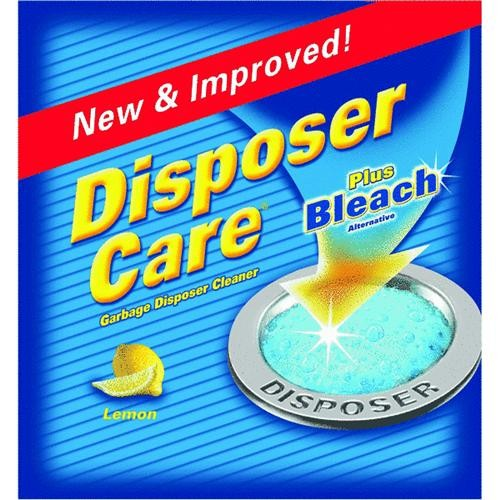 Summit Brands 4-Pack Disposer Care Garbage Disposal Cleaner
