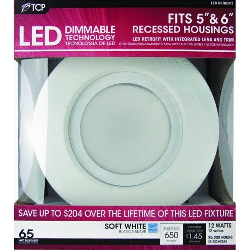 TCP TCP Retrofit LED Recessed Light Kit