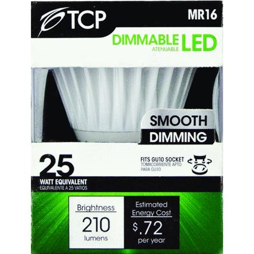 TCP TCP MR16 Dimmable LED Floodlight Light Bulb