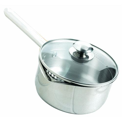 T-Fal/Wearever Wearever Cook & Strain Covered Sauce Pan