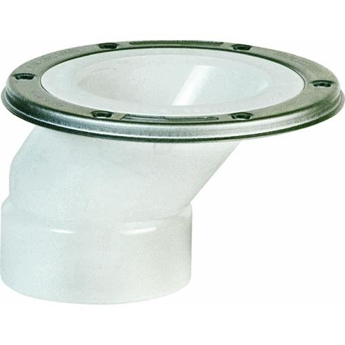 Sioux Chief PVC Offset Closet Flange With Swivel Ring