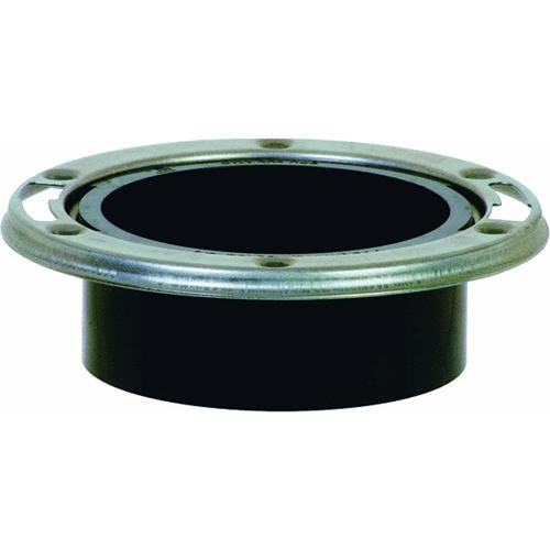 Sioux Chief ABS Hub Closet Flange With Stainless Steel Ring