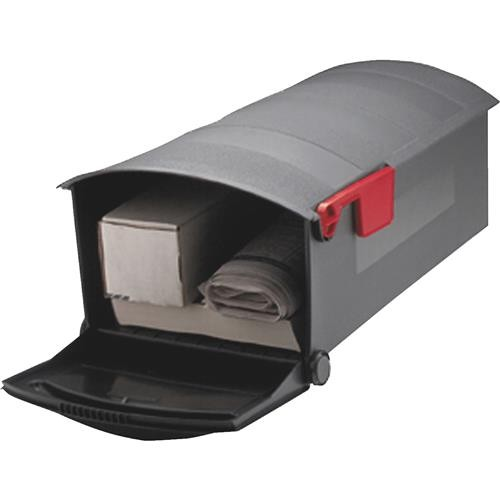 Solar Group Gibraltar No. C2 Plastic Post Mount Mailbox