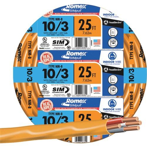 Southwire Southwire 10-3 NMW/G Wire