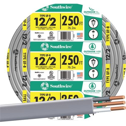 Southwire Southwire 12-2 UFW/G Wire