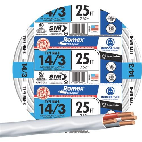 Southwire Southwire 14-3 NMW/G Wire