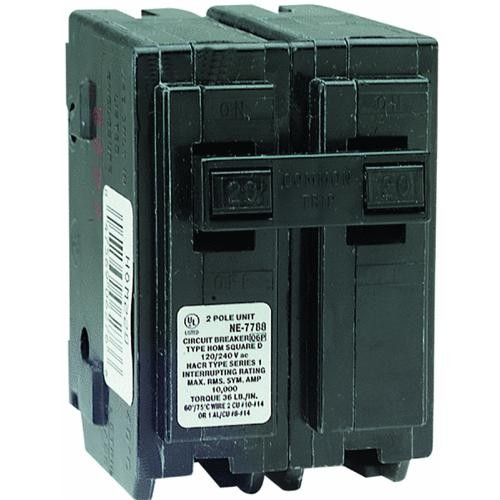 Square D Co. Square D Homeline Double Pole Circuit Breaker