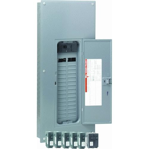 Square D Co. Square D Homeline Value Pack Main Breaker Plug-on Neutral Load Center
