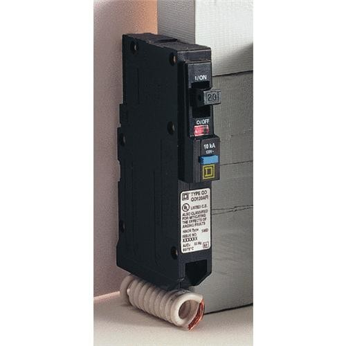Square D Co. Square D QO Single Pole Arc Fault Breaker