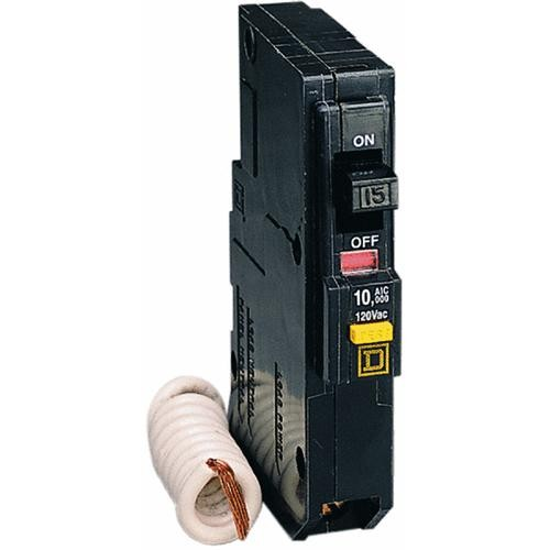 Square D Co. Square D QO Single Pole GFCI Breaker