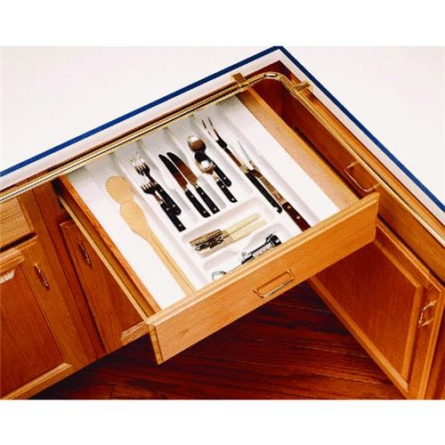 Rev a Shelf Rev-A-Shelf Trim-To-Fit Cutlery Tray Organizer
