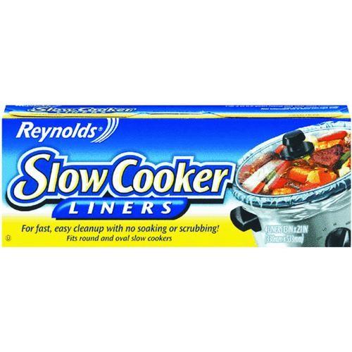 Reynolds Aluminum Reynolds Slow Cooker Liner