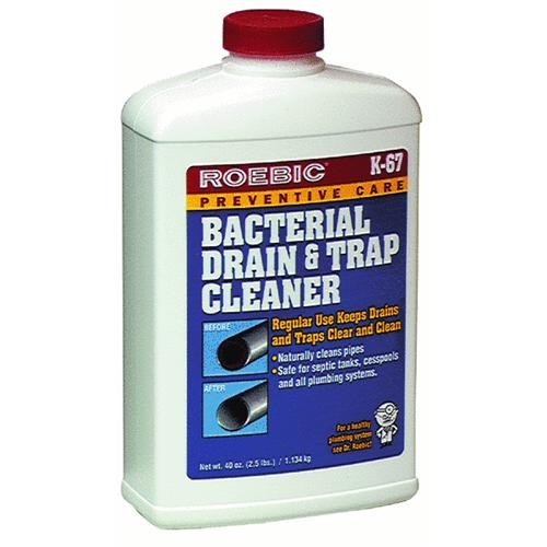 Roebic Laboratories Roebic Bacteria & Enzyme Drain Cleaner And Trap Cleaner