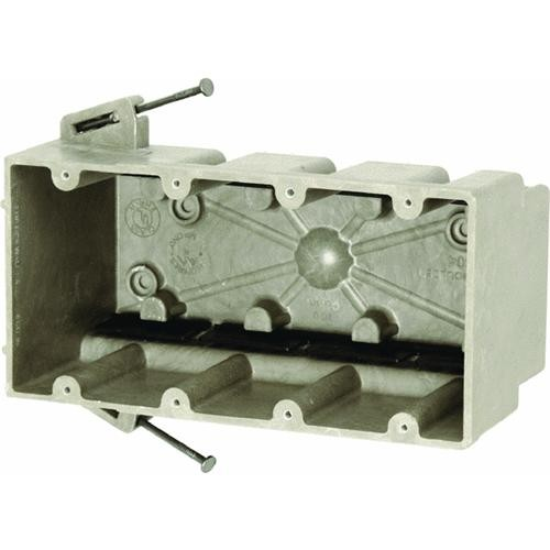Allied Moulded 4 Gang Switch Box